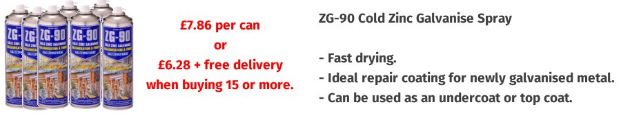 ZG90500ML Zinc Spray