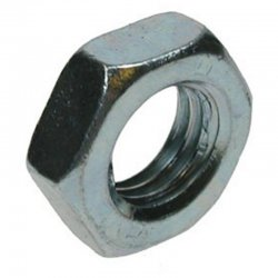 Hexagon  Half  Nuts  Zinc  Plated