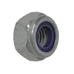 M8 Nyloc Nuts Type 'T' Galvanised (Pack of 500) [Grade 10]