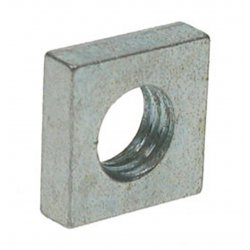 Square  Nut  -  Zinc  Plated