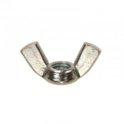 Wing  Nuts  Zinc  Plated..