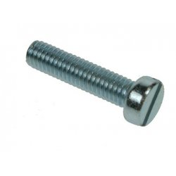 Cheese  Slotted  Machine  Screws  Zinc  Plated