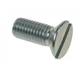 Csk  Slotted  Machine  Screws  Zinc  Plated