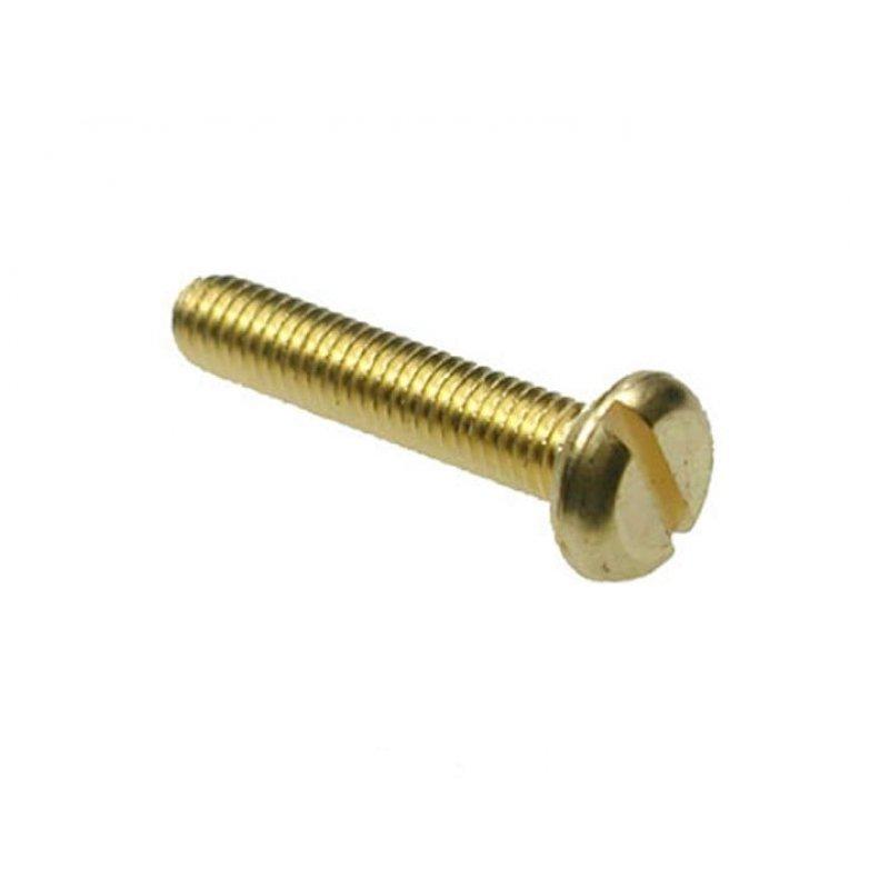 slotted machine screws