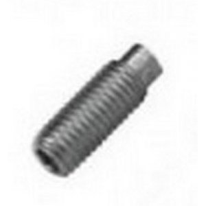 Flat Point Socket Set Screws - Self Colour