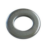 M4 Form 'A' Flat Washers Zinc Plated (Pack of 10)