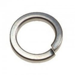 M2  Spring  Washers  Stainless  Steel