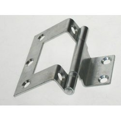 Cranked  Cabinet  Hinges  -  Zinc  Plated