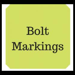 Bolt grade markings & strength