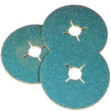 115mm x 60g Zirconium Fibre Discs (Pack of 25)