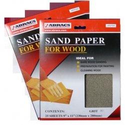 230x280mm  Sandpaper  Sheets