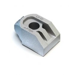 Lindapter  AF  High  Slip  Resistance  Clips  Zinc  Plated
