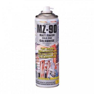 MZ90 Matt Zinc Galvanise Spray 500ml (Pack of 1)